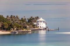 Beach Resort at the Arabian Gulf Stock Photography