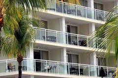 Beach resort balcony Key Largo, Florida Stock Image