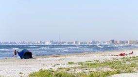 Beach Resort on Black Sea Royalty Free Stock Photography