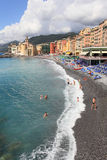 Beach resort of Camogli Royalty Free Stock Image