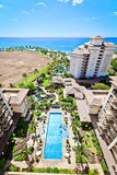 Beach Resort in Hawaii Stock Images