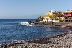 Beach Resort in La Gomera Stock Photography