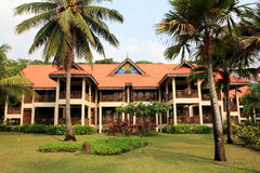 Beach resort main building Stock Photography