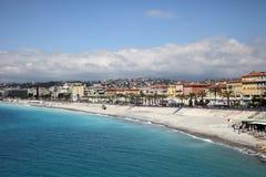 Beach resort of Nice Stock Photo
