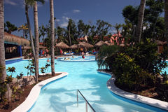 Beach Resort Pool Stock Photo
