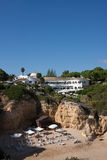 Beach Resort in Portugal Armação de Pêra Royalty Free Stock Photo