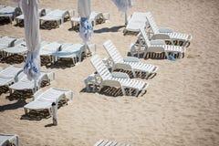 Beach at resort Royalty Free Stock Photography