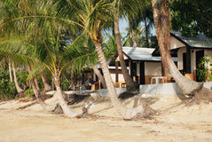 Beach resort in Thailand Royalty Free Stock Photography