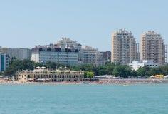 Beach. Resort town in Russia in Gelendzhik Stock Photos
