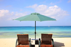 Beach resort Royalty Free Stock Photography
