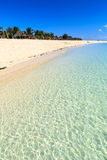 Beach of a resort on a tropical island Royalty Free Stock Photo