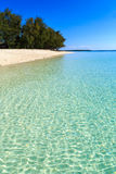 Beach of a resort on a tropical island Stock Photography