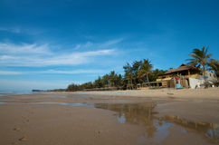 Beach resort in Vietnam Stock Photography