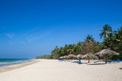 Beach resort on the west coast of Myanmar Stock Photography
