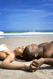 Beach rest Stock Images