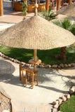 Beach Restaurant. In Sharm El-Sheikh stock images