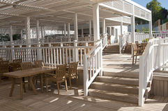 Beach restaurant Royalty Free Stock Photo