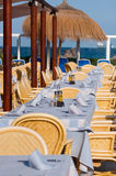 Beach restaurant Royalty Free Stock Image