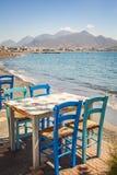 Beach restaurant Stock Images