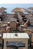 Beach restaurant Stock Image