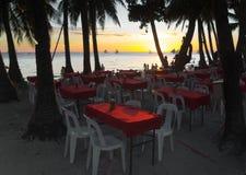 Beach restaurant Stock Photography