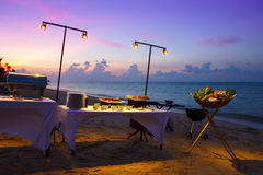 Beach restaurant Royalty Free Stock Image