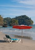 Beach Retreat - Costa Rica stock image