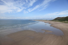 The beach at Rhossili bay Stock Photos