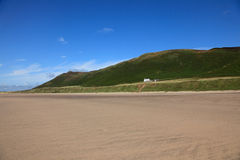 The beach at Rhossili bay Stock Photography