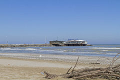 Beach of Rimini Stock Image