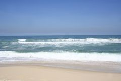 Beach of Rio de Janeiro Royalty Free Stock Photos