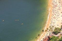 Beach of Rio de Janeiro Royalty Free Stock Photo