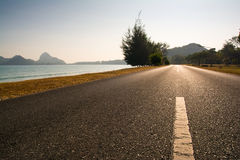 Beach road Royalty Free Stock Image