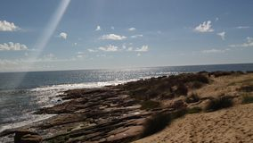 Beach of Rocha Uruguay Royalty Free Stock Photography