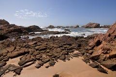 Beach Rock Stock Image