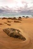 Beach rock Royalty Free Stock Photo
