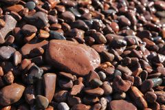 Beach Rocks Royalty Free Stock Photography