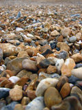 Beach rocks. Brighton beach, UK Royalty Free Stock Photo