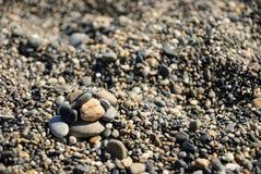 Beach rocks. Rocks on the rocky beach Stock Photography