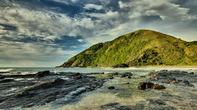 Beach Rocks - Salika Wildlife Reserve Stock Images