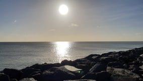 This beach rocks royalty free stock image