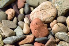Beach Rocks Stock Photo