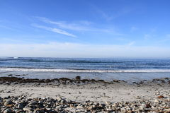 beach rocky sea Στοκ Φωτογραφίες