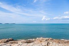 beach rocky sea Στοκ Φωτογραφία