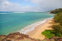 Beach in Rodrigues Island Stock Photos