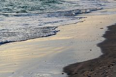 Beach Sand Waves Royalty Free Stock Photography