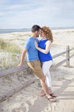 Beach romance Royalty Free Stock Images