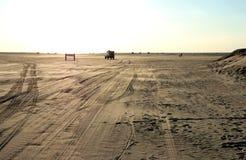 Beach of Romo. The famous beach in Romo - Denmark Stock Photography