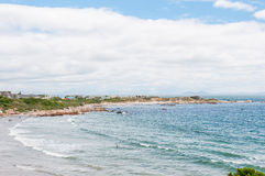 Beach in Rooi Els Royalty Free Stock Photo