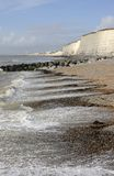 Beach at Rottingdean. Sussex. England Stock Image